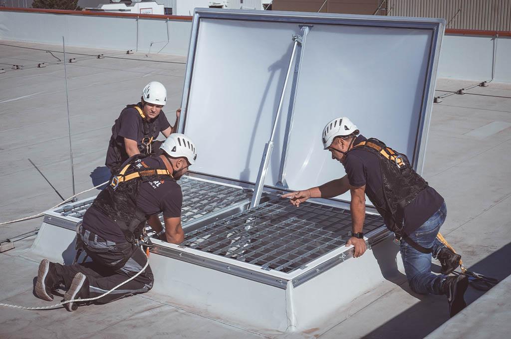 Rauchabzugsanlage und Wärmeabzugsanlage