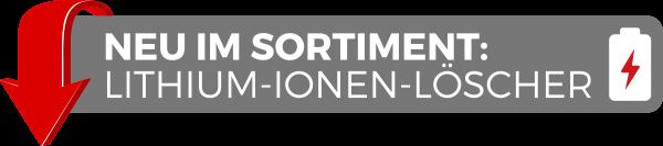 Lithium Ionen Akku Feuerlöscher